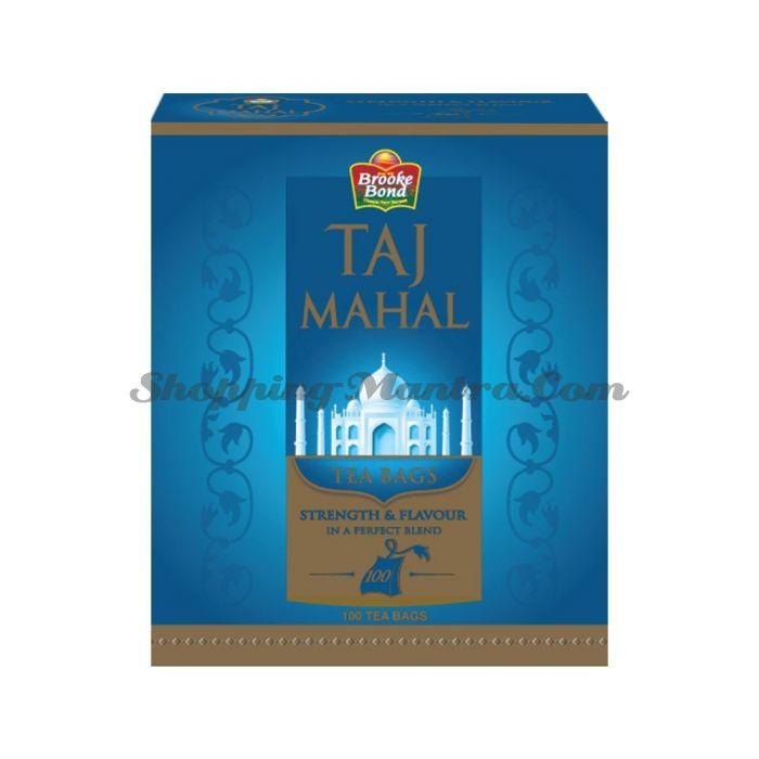 Черный чай Тадж Махал в пакетиках   Brooke Bond Taj Mahal Tea Bags