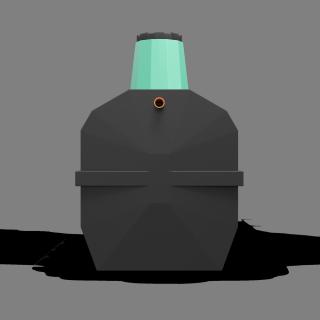 Локальная очистная установка «ТЕРМИТ-ПРОФИ-5,5Ф» 5,5 м3(рассчитан на 10-13 проживающих человек)