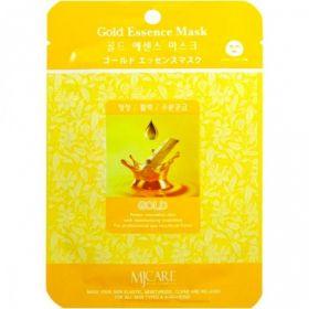 Mijin Essence Gold Essence Mask 23ml - Маска тканевая золото