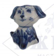 Собака Гжель Соня 4х4х2,7см