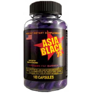 Asia Black 25 100kap.