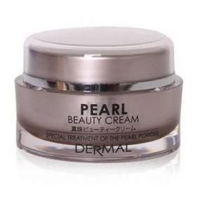 DERMAL Pearl Beauty Cream 50ml - Крем д/лица коллагеновый ЖЕМЧУЖНАЯ ПУДРА