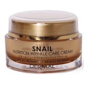 DERMAL Snail Nutrition Wrinkle Care Cream 50ml - Крем д/лица коллагеновый МУЦИН УЛИТКИ