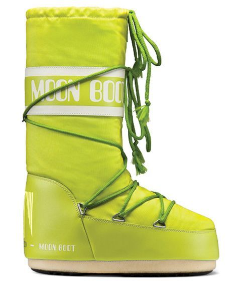 Moon Boot Nylon Lime / 35-38, 39-41.