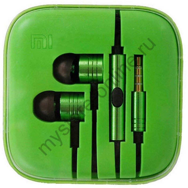 Наушники Xiaomi Mi Piston Green