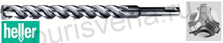 Бур по железобетону Heller Trijet, SDS-plus, 5х100х160мм