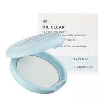 THE FACE SHOP Oil Clear Blotting Pact 9g - Компактная пудра против жирного блеска
