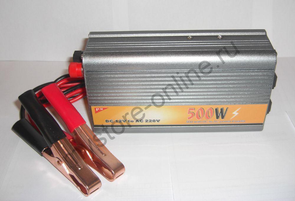 Преобразователь напряжения Konnwei мощностью 500W