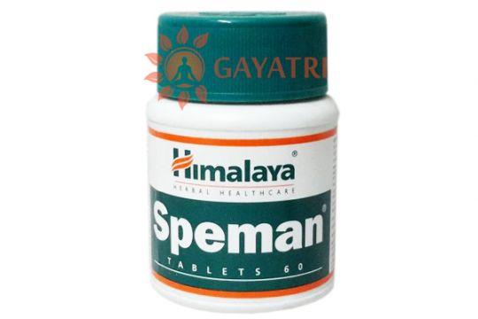 """АЮРВЕДИЧЕСКОЕ СРЕДСВО ДЛЯ МУЖЧИН """"СПЕМАН"""" 60 таблеток. Производитель """"Хималая""""/ Speman, 60 TAblets /Himalaya"""