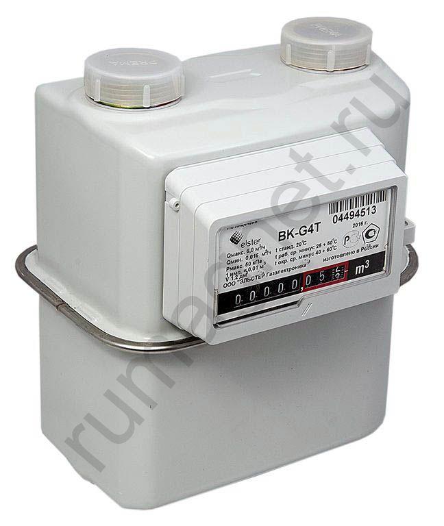 Газовый счетчик BK G4t