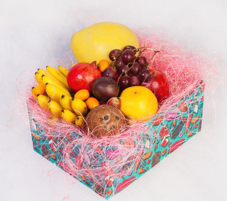 Набор экзотических фруктов подарок 86