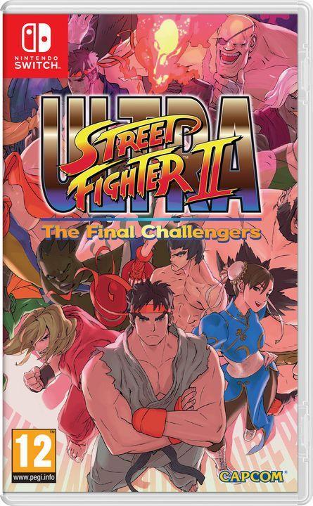 Игра Ultra Street Fighter 2 (Nintendo Switch)