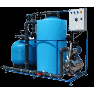 Система очистки воды АРОС 2+К(Для 2-3-х постовой автомойки с дозирующим насосом)