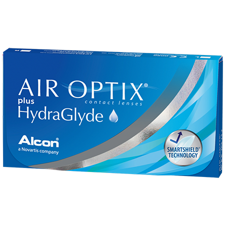 Air optix plus Gydraglyde 3 pk