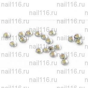 Стразы для ресниц и ногтей серебро 50шт.