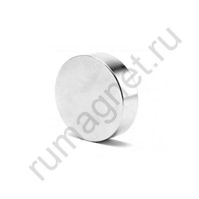 Неодимовый магнит диск 40x10 мм