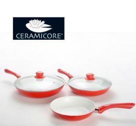 Набор керамических сковородок - Ceramicore