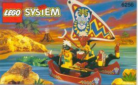 6256 Лего Катамаран островитян