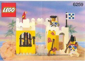 6259 Лего Укрепление солдат с тюрьмой