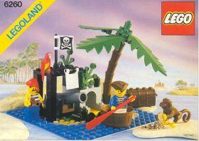 6260 Лего Остров пиратов