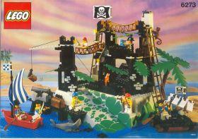 6273 Лего База пиратов на скалистом острове