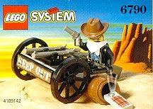 6790 / 6791  Лего Повозка бандита