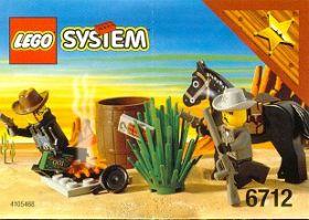6712 Лего Столкновение с шерифом