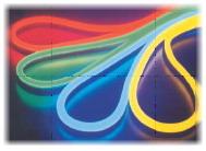 ЛедНеон-Флекс светодиодный 24V 14х27мм (кратность резки- 0,1м), 9,5W/м