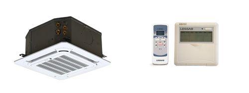 Фанкойл кассетный 4-поточный (компактный) Lessar LSF-500BE42C / LZ-BEB21