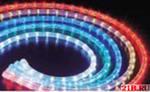 Дюралайт-фиксинг светодиодный кругл 13mm, 2жилы, 240В, 2,4W/м резка 2м