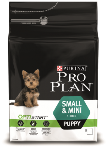 Pro Plan small&mini Puppy OptiHealth Chicken&Rise 3 kg/ПроПлан Смол&Мини Паппи ОптиХилс Курица с Рисом 3 кг