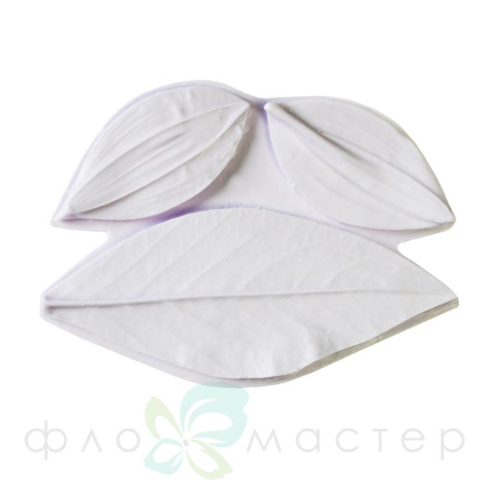 Молд лист и лепестки георгина