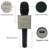 Micgeek Q9 беспроводной микрофон bluetooth для смартфонов, телефон android и Iphone