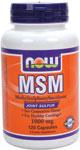 МСМ-1000 (Метилсульфонилметан) 120 капс. органического происхождения, содержащий серу