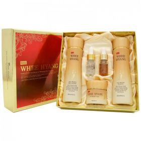DEOPROCE Whee Hyang Anti-Wrinkle & Whitening Skin Care 5 Set - Набор антивозрастных средств с корнем женьшеня