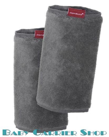 Накладки на ремни для слинг-рюкзака MANDUCA Baby And Child Carrier «FUMBEE Grey» [Мандука серые]