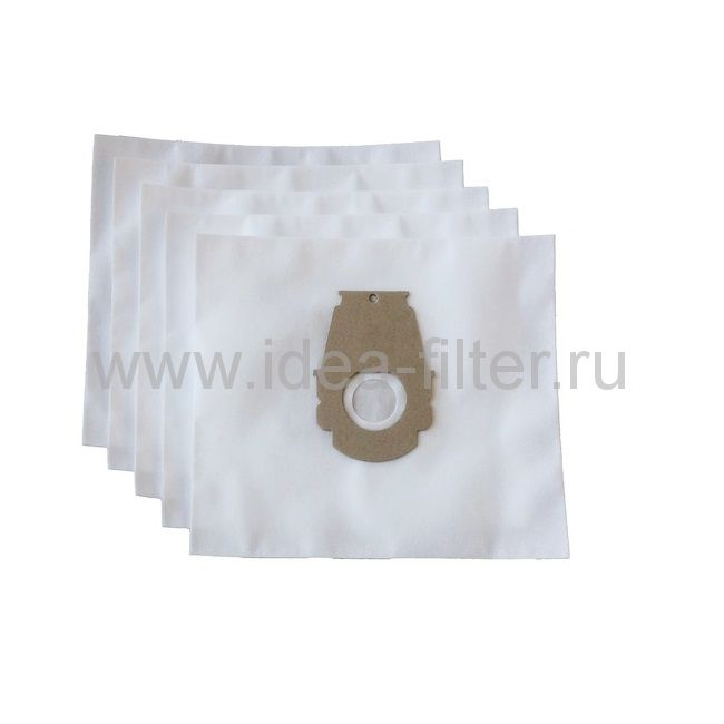 IDEA BS-02 мешки для пылесоса BOSCH typ P- 4 шт синтетические одноразовые