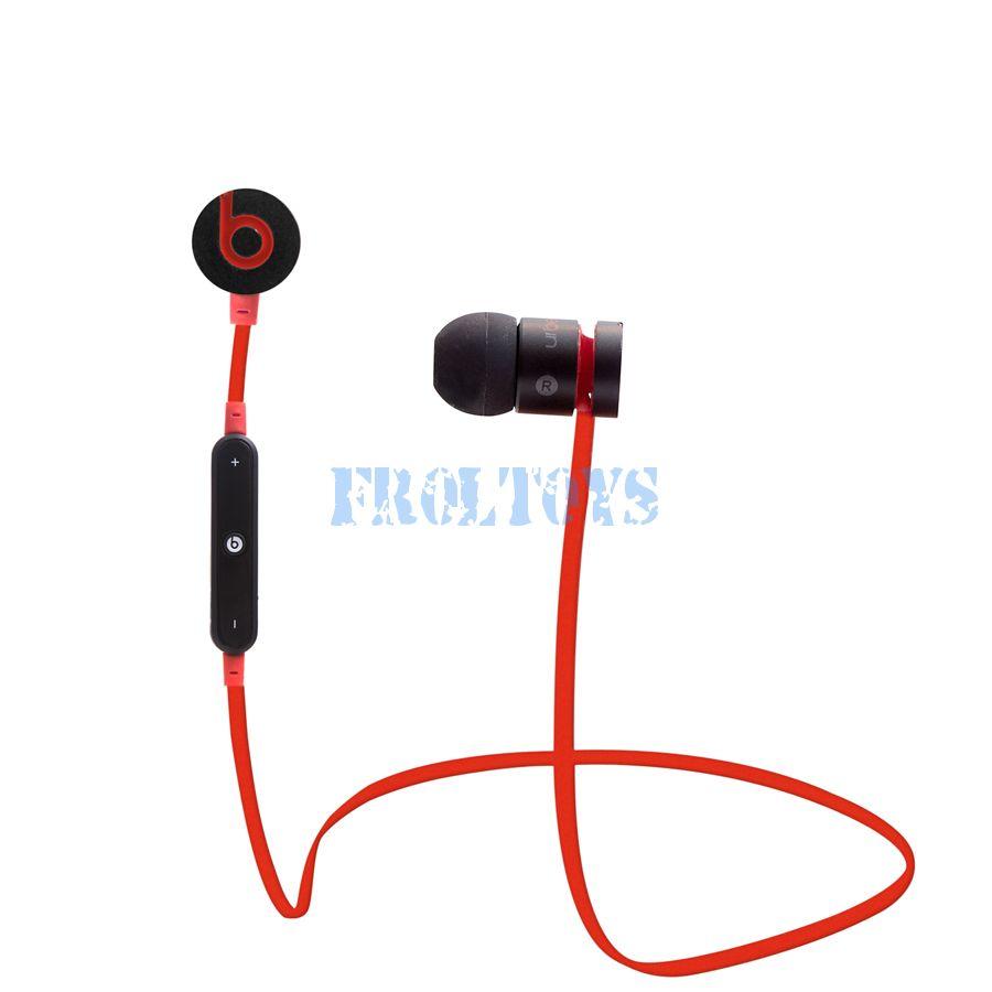 Наушники UrBeats Wireless Bluetooth 4.0 чёрно-красные