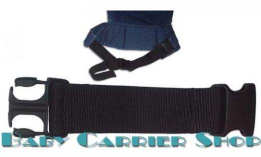 Ремень-удлинитель пояса для слинг-рюкзака ERGO BABY «WAIST EXTENSION» [Эрго Беби WX черный]