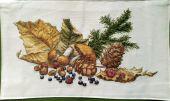 """Схема для вышивки крестом """"Ароматы леса"""". Отшив."""