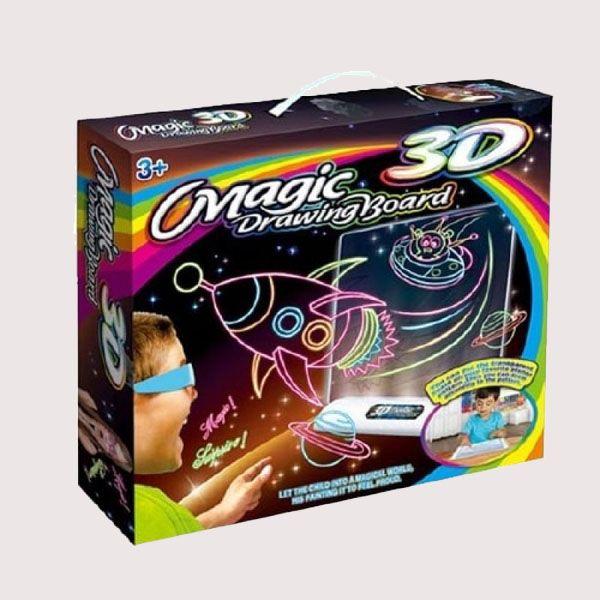 Волшебная 3D доска для рисования