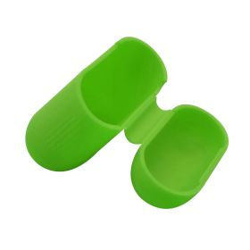 Чехол на airpods силиконовый (зеленый)