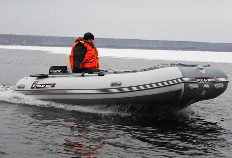 Лодка Polar Bird 400E (Eagle)(«Орлан»)