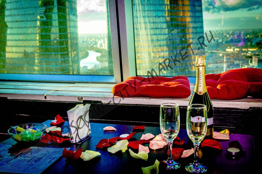 Романтическое свидание в Москва-Сити (общий зал)