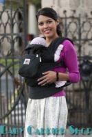 Слинг-рюкзак ERGO Baby CARRIER Эргономичный детский рюкзачок-переноска для малышей «OPTIONS COLLECTION Covers Bold» [Эрго BCC001-CCPM черный + 3 сменные декоративные накладки]