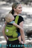 Слинг-рюкзак ERGO Baby CARRIER Эргономичный детский рюкзачок-переноска для малышей «PERFOMANCE COLLECTION Spring Green» [Эрго BCP32300 салатовый]