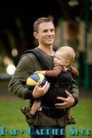 Слинг-рюкзак ERGO Baby CARRIER Эргономичный детский рюкзачок-переноска для малышей «SPORT COLLECTION Black» [Эрго BC6SP черный]