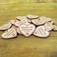 свадебные магниты из дерева на заказ