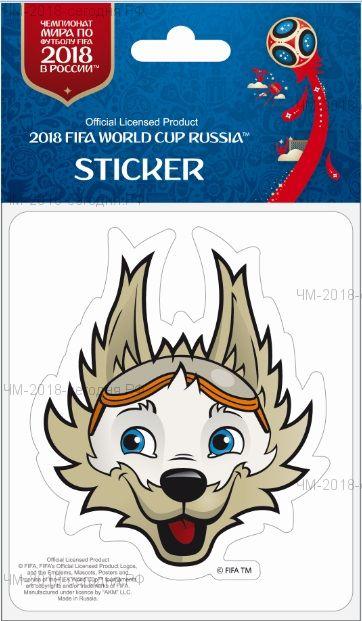 FIFA-Наклейка бумажная фигурная Забивака (8)