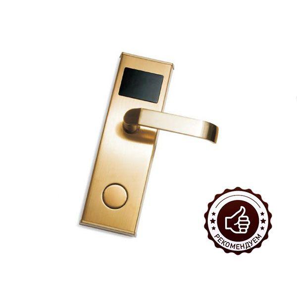 IronLogic Z-7 EHT замок-ручка умный электронный (золото)